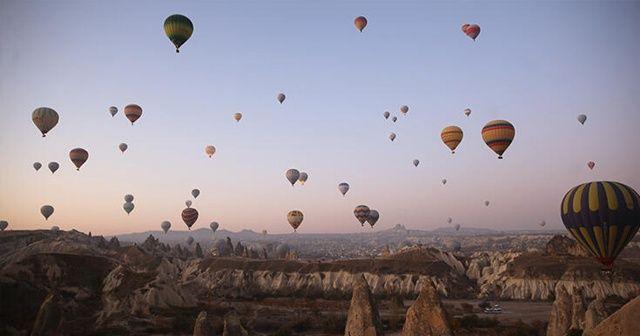 Kapadokya'da sıcak hava balon turları 2 gün boyunca iptal edildi