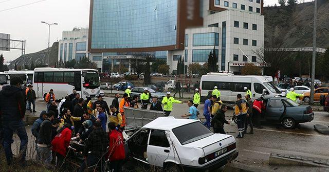 Karabük'te feci kaza: 1 ölü, 4 yaralı