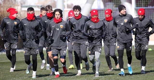 Kayserispor, Denizlispor maçının hazırlıklarına başladı