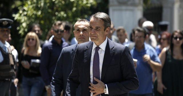 """Miçotakis: """"Yunanistan sınırda hiçbir kaçak geçişe tahammül göstermeyecek"""""""