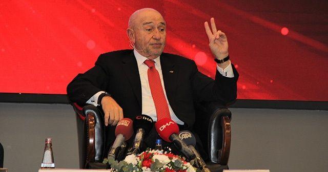 Nihat Özdemir: 'İzmir'e bir milli maç vermek istiyoruz'
