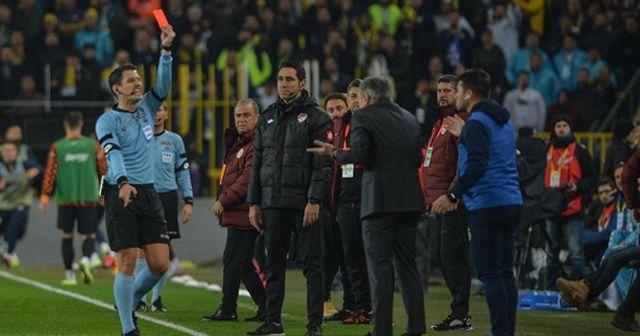 PFDK'dan Ersun Yanal ve Deniz Türüç'e 1 maç ceza