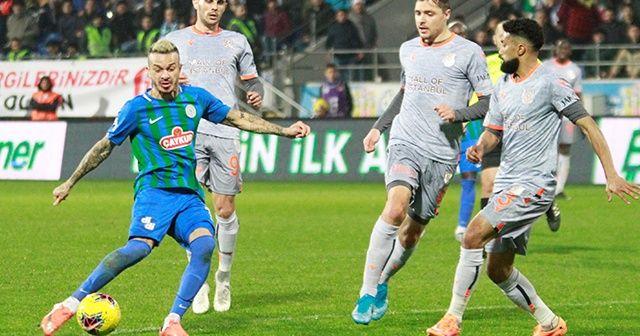 Başakşehir Rizespor'u 2-1 yendi