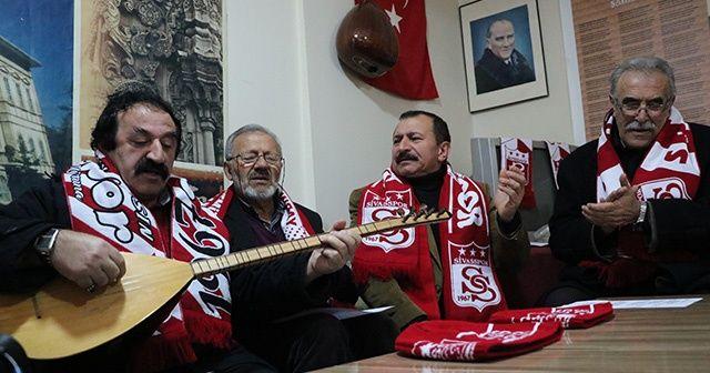 Sivaslılar TFF ve MHK'ye tepkisini türkülerle dile getirdi