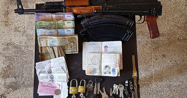 Tel Abyad'da 5 terörist yakalandı