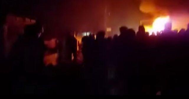 Telabyad'da bomba yüklü araç patladı