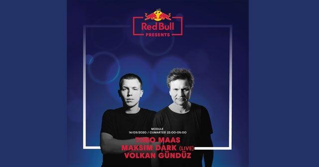 Timo Maas ve Maksim Dark Red Bull Presents kapsamında İstanbul'da