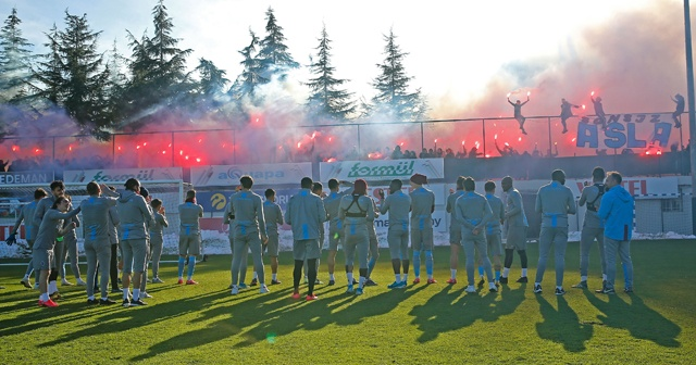 Trabzonspor'da, Abdulkadir Ömür sevinci