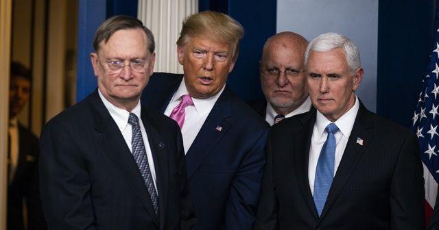 Trump'tan koronavirüs açıklaması: ABD halkına karşı risk oldukça az