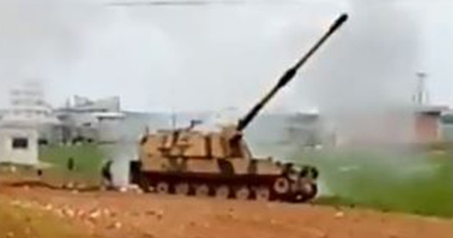 TSK, Halep'te Esad rejimi hedeflerini vurdu
