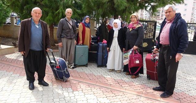 Umre için yola çıkanlar havalimanından geri döndü