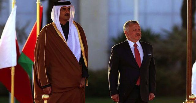 Ürdün ve Katar ilişkilerini yeniden canlandırmayı istiyor