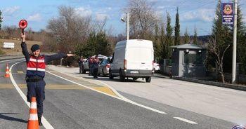1200 araç trafikten men edildi