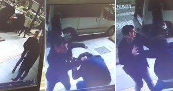 6 yıl sonra gördüğü arkadaşıyla önce tokalaştı sonra saldırdı