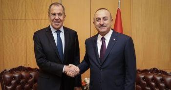 Bakan Çavuşoğlu Lavrov'la görüştü