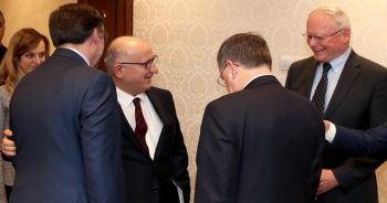Bakan Yardımcısı Karaosmanoğlu, ABD'li heyet ile görüştü