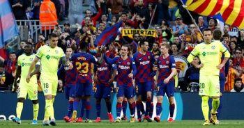Barcelona, lider Real Madrid ile puanını eşitledi