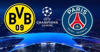 Borussia Dortmund PSG Şampiyonlar Ligi maçı canlı izle! Şifresiz veren kanallar! Beinsports İdman tv canlı izle