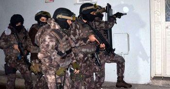 Bursa'da terör operasyonu