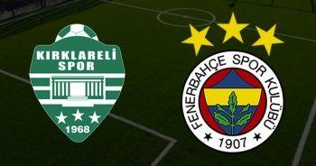 CANLI İZLE: Kırklarelispor Fenerbahçe Maçı Saat Kaçta Hangi Kanalda?