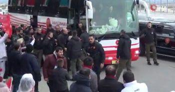 Cumhurbaşkanı Erdoğan'a Kahramanmaraş'ta sevgi seli