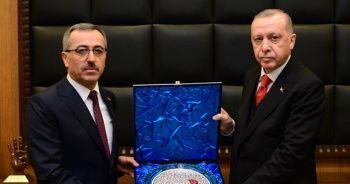 Cumhurbaşkanı Erdoğan, Kahramanmaraş Büyükşehir Belediyesini ziyaret etti
