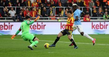 Gaziantep FK puanı son dakikada kurtardı