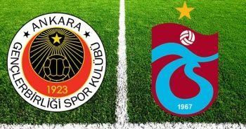 Gençlerbirliği Trabzonspor maçı saat kaçta hangi kanalda? Beinsports 2 canlı izle