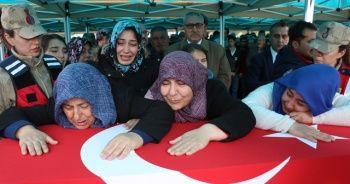 İdlib şehidi dualarla son yolculuğuna uğurlandı