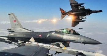 Irak kuzeyine hava harekatı: 4 PKK'lı terörist etkisiz hale getirildi