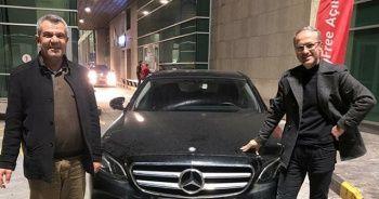 İstanbul'da çalınan arabayı Gürcistan'da buldu