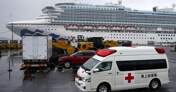 Japonya'da karantinadaki gemide 70 kişide daha 'Kovid-19' tespit edildi
