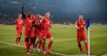 Leipzig, deplasmanda Schalke 04'ü 5 golle geçti