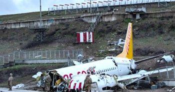 Sabiha Gökçen'de kaza yapan pilotun ifadesi alındı