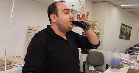 15 yıldır günde 5 litre kola içiyor