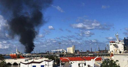 ABD Hafter güçlerinin Trablus Limanı'na saldırılarından endişeli