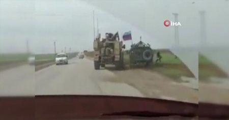 ABD ve Rusya askerleri karşı karşıya!
