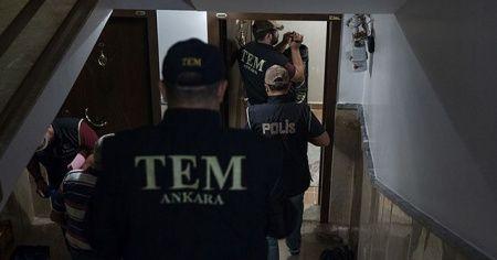 Ankara'da DEAŞ'a yönelik operasyonda 9 zanlı yakalandı