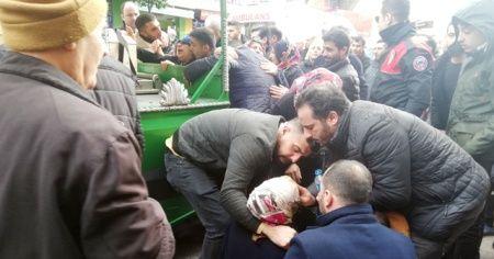 Avcılar'da cinayet! Cenazenin adli tıpa sevki sırasında arbede