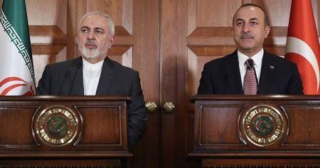 Bakan Çavusoğlu, İranlı mevkidaşı ile görüştü