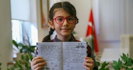 İlkokul öğrencisi Elanur, matematikte dünya 1.'si oldu