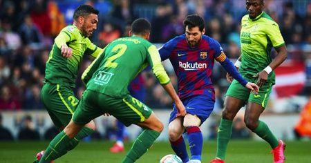 Barcelona, Messi ile kazandı