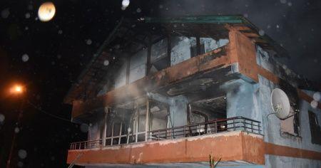 Bartın'da facia: Babaanne ve iki torunu yangında öldü