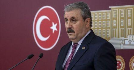 BBP Genel Başkanı Destici: 'Büyük Birlik Partisi devletinin, milletinin ve kahraman ordusunun yanındadır'