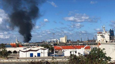 BM, Hafter güçlerinin Trablus Limanı'na düzenlediği saldırıyı kınadı