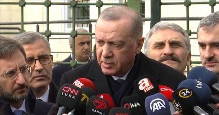 Cumhurbaşkanı Erdoğan: Bu akşam 18.00'de Putin ile görüşeceğim.