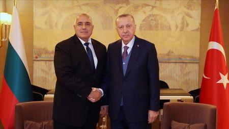 Cumhurbaşkanı Erdoğan ile Bulgaristan Başbakanı Borisov görüştü