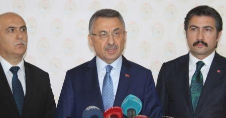 Cumhurbaşkanı Yardımcısı Fuat Oktay: Arama kurtarma çalışmaları tamamlandı