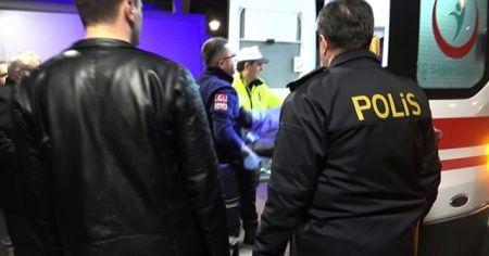 Denetim noktasını geç fark edince trafik polisine çarptı