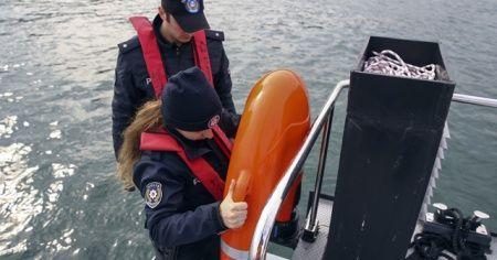 Deniz polisi, riskli kurtarma çalışmalarında robot kullanacak